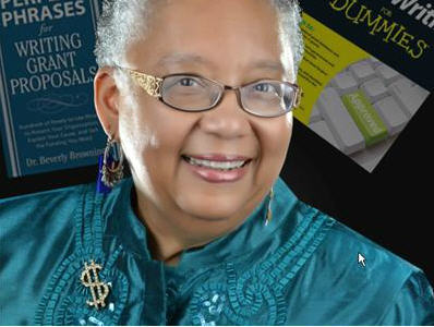 Dr. Beverly Browning, author of Grant Writing for Dummies