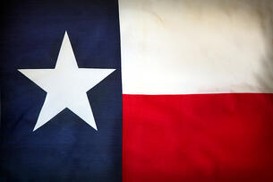 Texas flag, Lone Star State flag, grants management experience of Harris County's grants coordination manager Hank Griffith