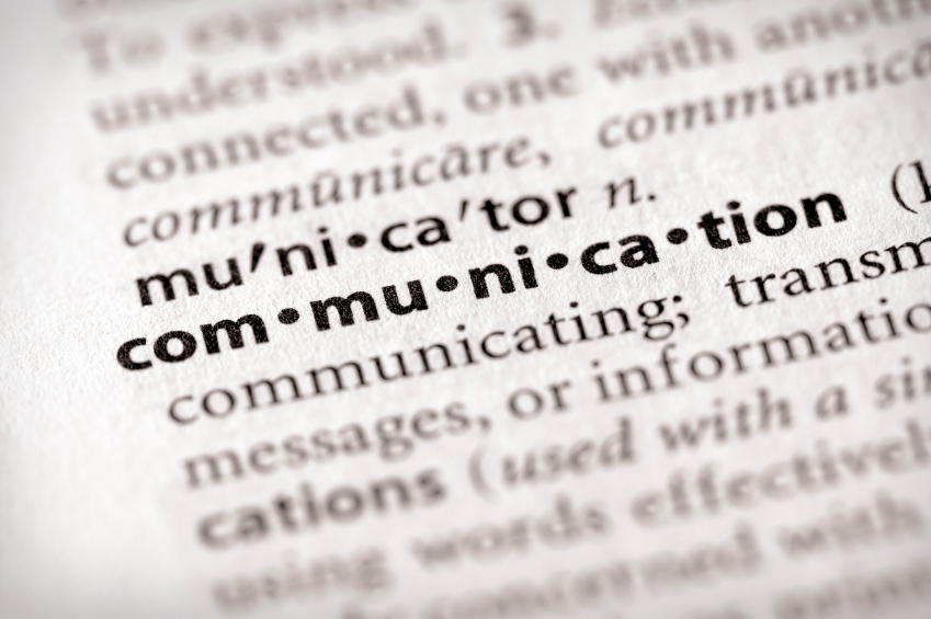 """The word """"communication"""" in a dictionary, used to represent communication tips for grantors, grantees, and subgrantees"""