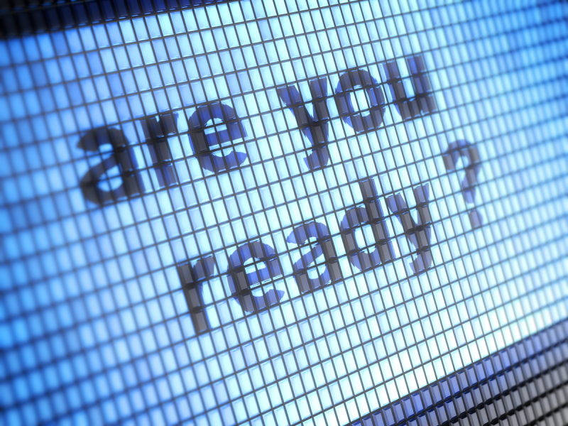 """""""Are you ready?"""" written digitally"""