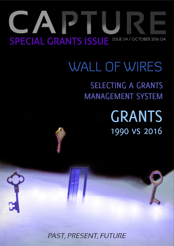 Capture Magazine Cover in an Article About How Grant Funding Has Changed Since the 90s