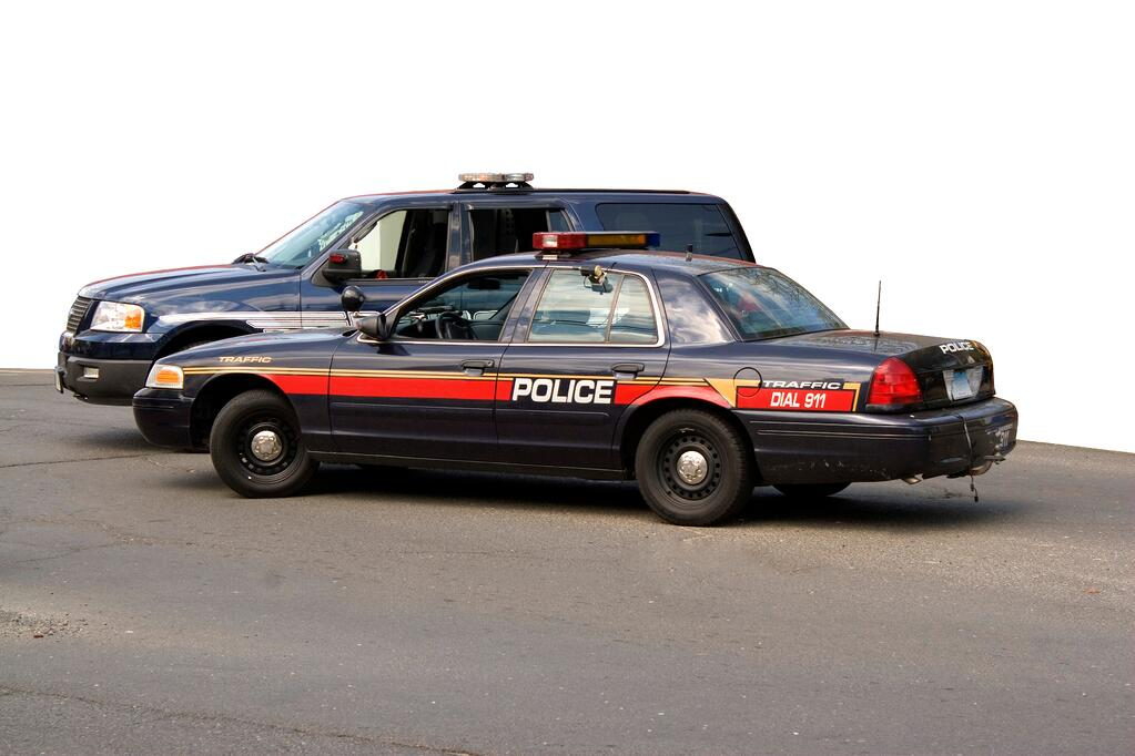 A-police-car-in-an-article-about-JAG-Justice-Assistance-Police-Grants