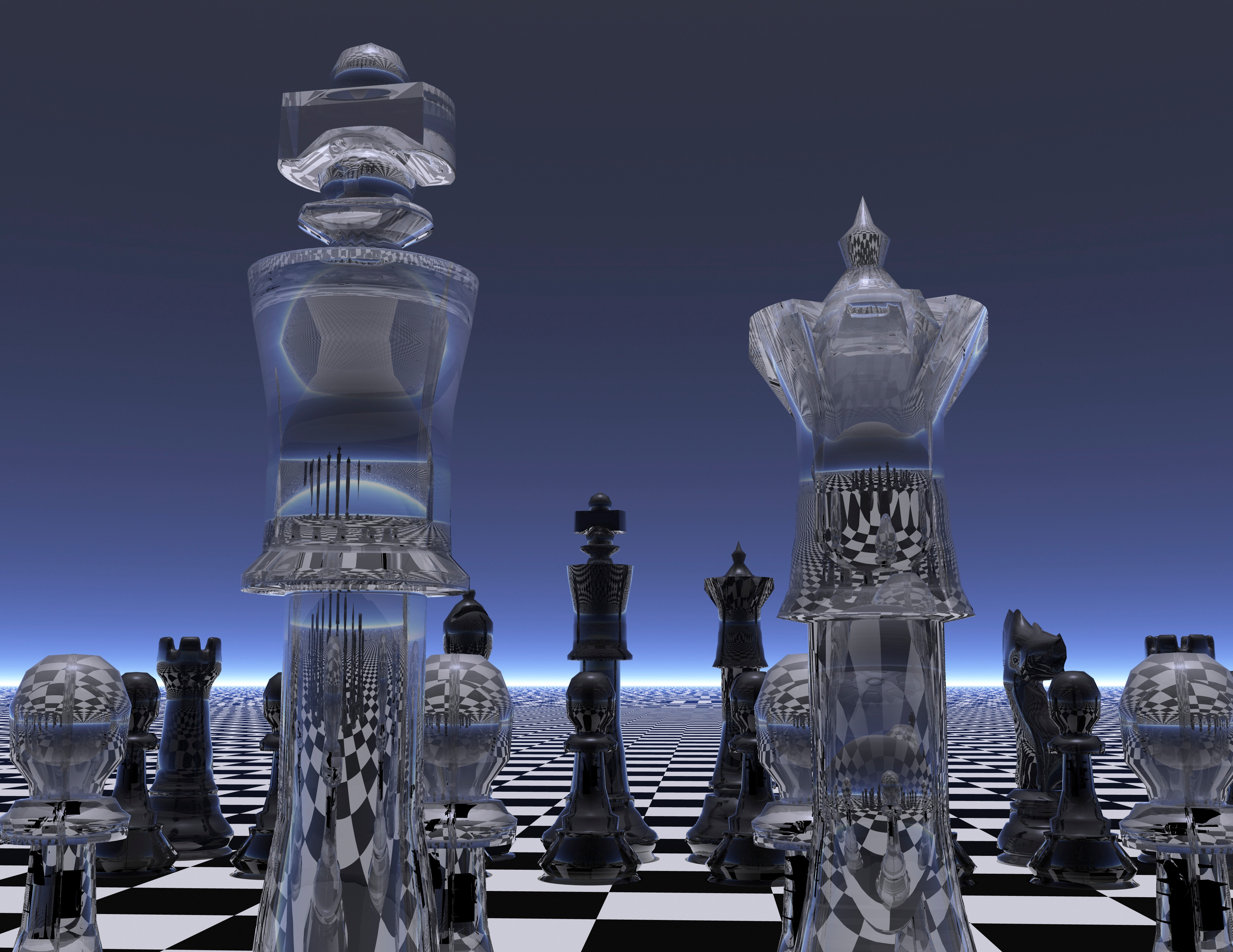 Chess Set in an Article About Grant Funding Strategies