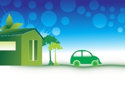 green-car-in-article-about-electrify-america-and-charging-stations