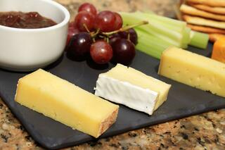 Cheese and Fruit in an Article About the USDA Food Grants