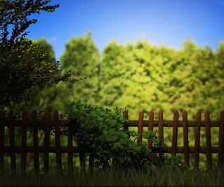 Wooden-Fence-in-an-Article-About-the-Rural-Community-Development-Initiative-Grant