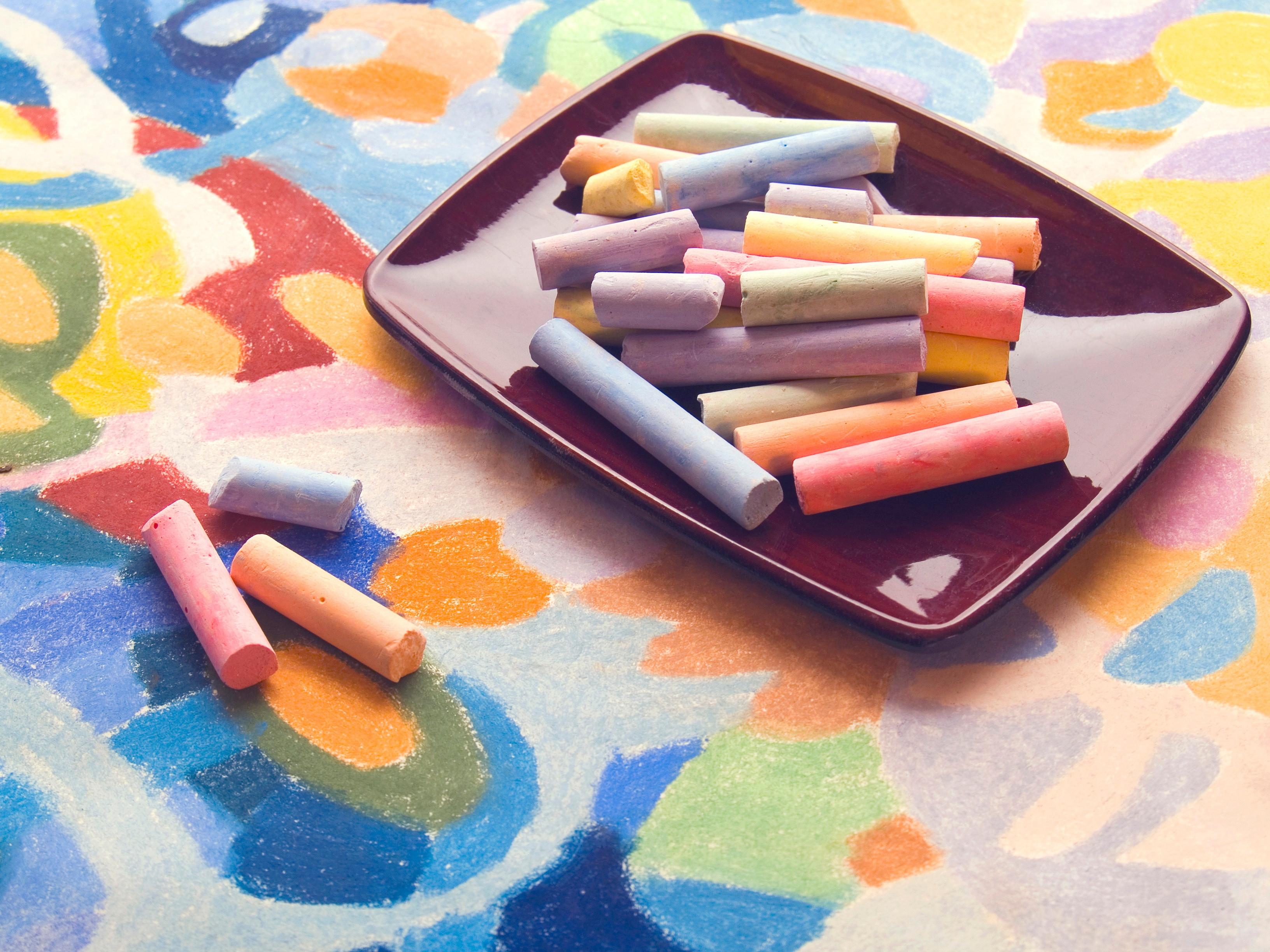 Pastel Chalk in an Article about the NEA Art Works Program