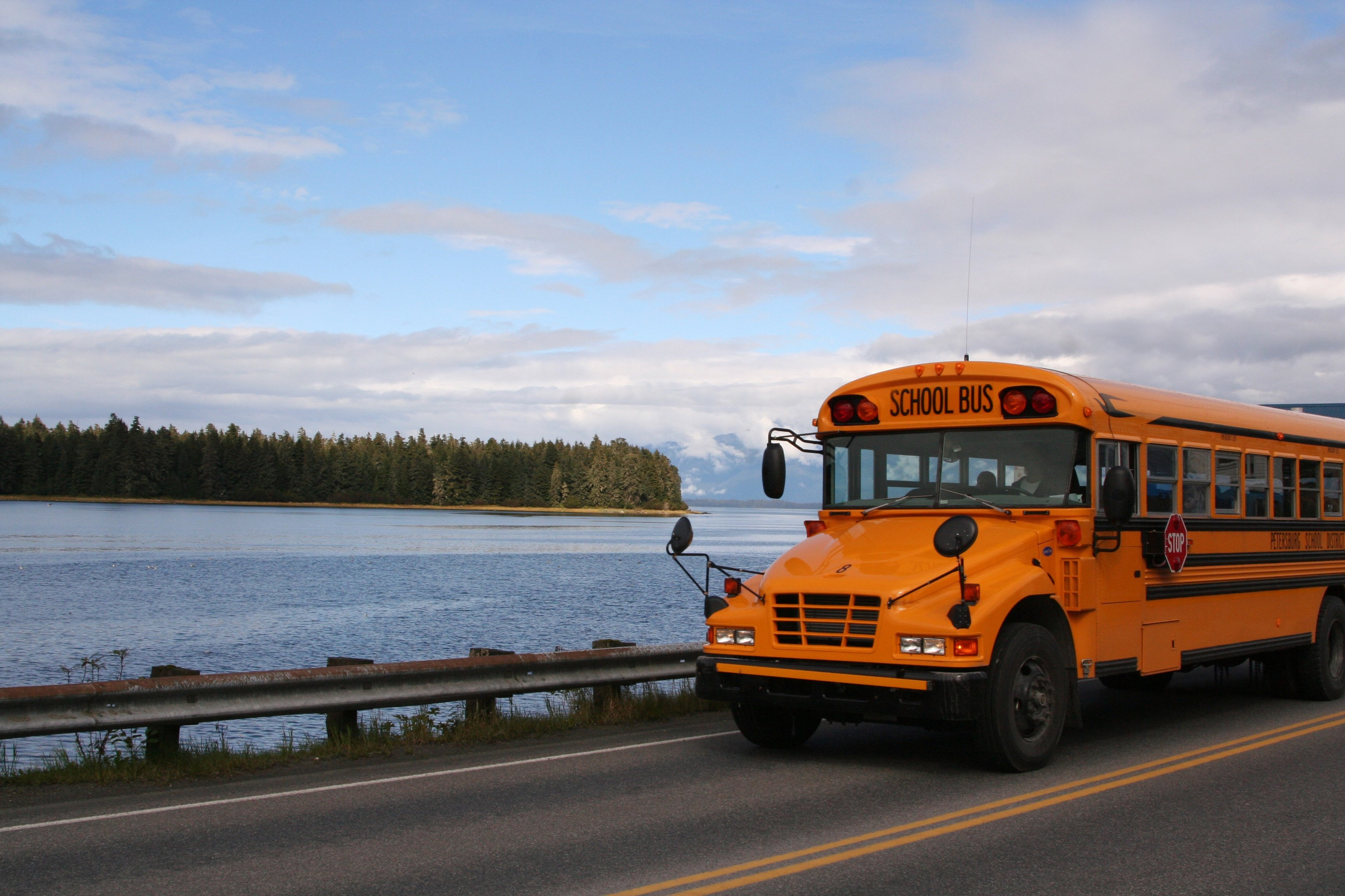 School-Bus-in-an-Article-About-The-National-Institute-of-Justice's-Comprehensive-School-Safety-Initiative