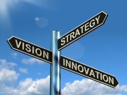 Innovation Sign in an Article About the Regional Innovation Strategies Program