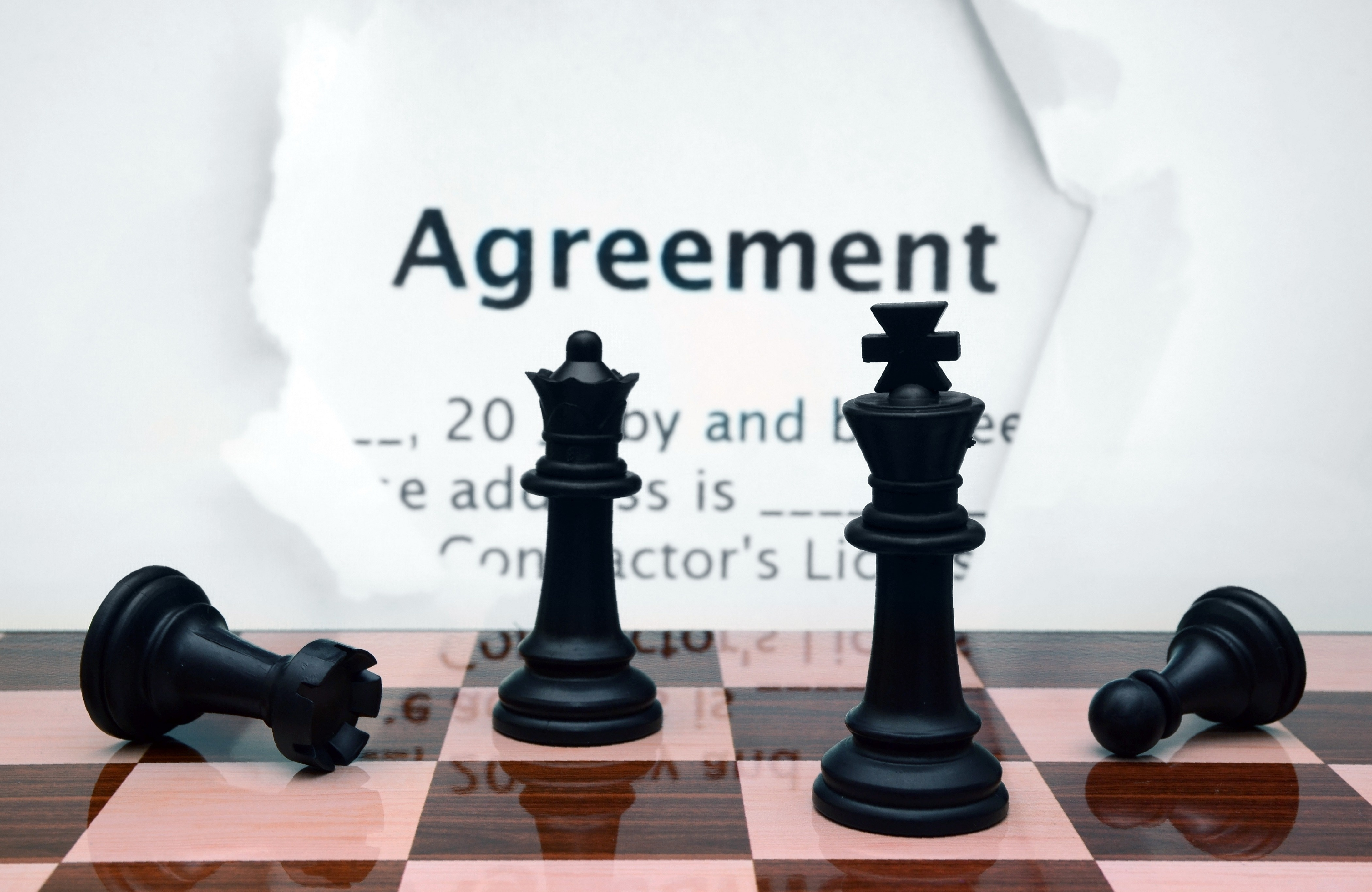 Picture of Chess Pieces in an Article About Subawards, Subrecipients and Grant Management