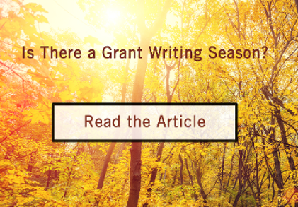 Grant Writing Season for Federal and State Grant Funding